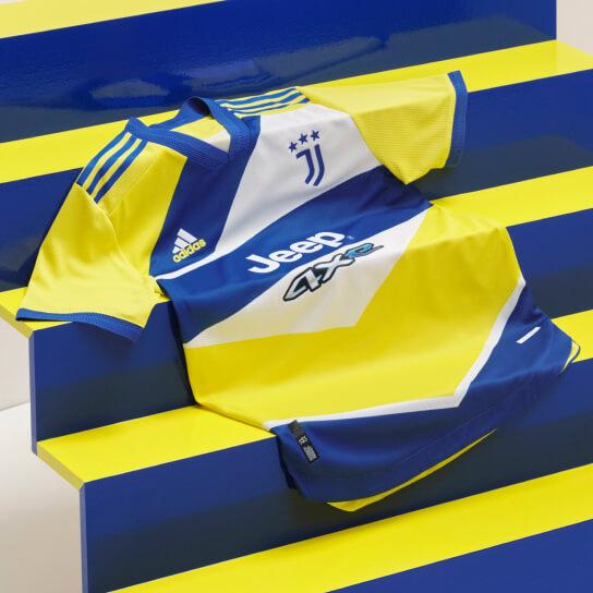 Iconische kleuren vormen de basis voor het unieke Juventus derde shirt
