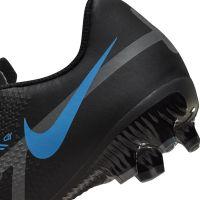 Nike Phantom GT 2 Academy Gras / Kunstgras Voetbalschoenen (MG) Kids Zwart Donkergrijs