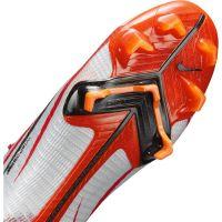 Nike Mercurial Superfly 8 Elite CR7 Gras Voetbalschoenen (FG) Rood Grijs Zwart Oranje