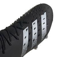 adidas Predator Freak.2 Gras Voetbalschoenen (FG) Zwart Wit Zwart