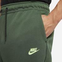Nike Tech Fleece Jogger Trainingsbroek Donkergroen Lime