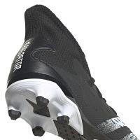 adidas Predator Freak.3 Gras / Kunstgras Voetbalschoenen (MG) Zwart Wit Zwart