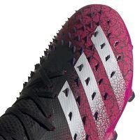 adidas Predator Freak.2 Gras Voetbalschoenen (FG) Zwart Wit Roze