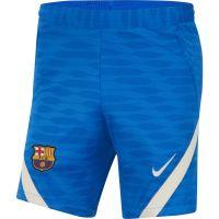 Nike FC Barcelona Strike Trainingsbroekje 2021-2022 Blauw Lichtgrijs