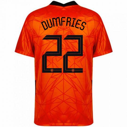 Nike Nederland Dumfries 22 Thuisshirt 2020-2022