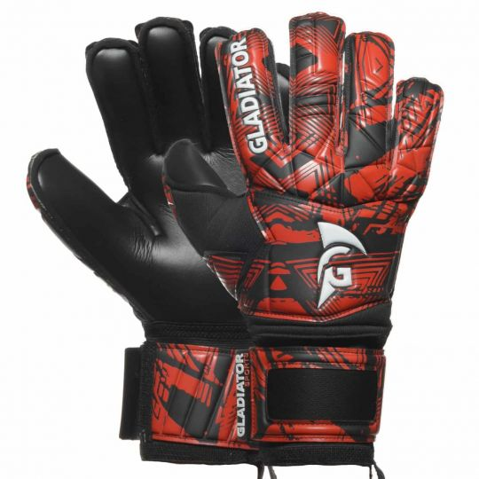 Gladiator Sports Keepershandschoen Dazzle 1 Rood Zwart