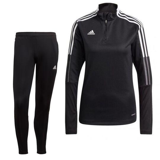 adidas Tiro 21 Trainingspak Vrouwen Zwart