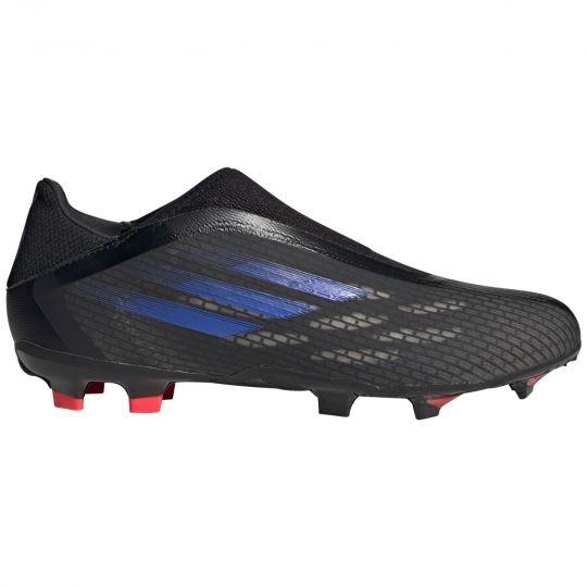 adidas X Speedflow.3 LL Gras Voetbalschoenen (FG) Zwart Blauw Geel