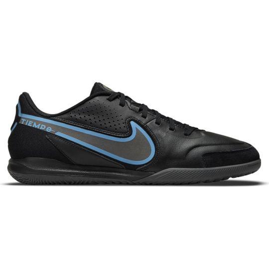 Nike Tiempo Legend 9 Academy Zaalvoetbalschoenen (IC) Zwart Blauw