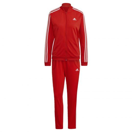 adidas Essentials 3-Stripes Trainingspak Rood