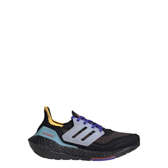 adidas Ultraboost 21 Primeblue Boost Hardloopschoenen Kids Zwart