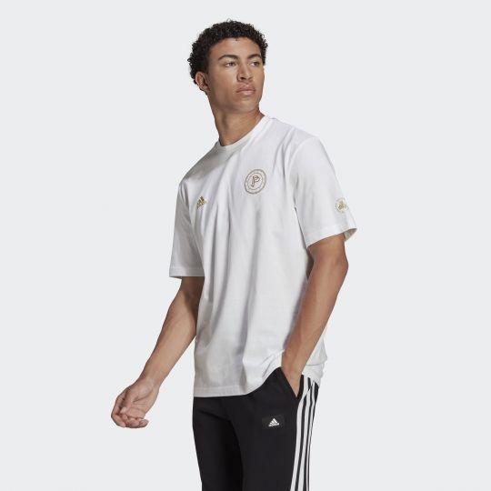 adidas Pogba T-shirt Wit Goud