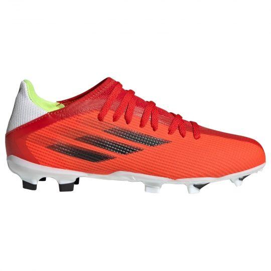 adidas X Speedflow.3 Gras Voetbalschoenen (FG) Kids Rood Zwart Rood