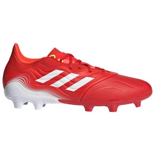 adidas Copa Sense.2 Gras Voetbalschoenen (FG) Rood Wit Rood