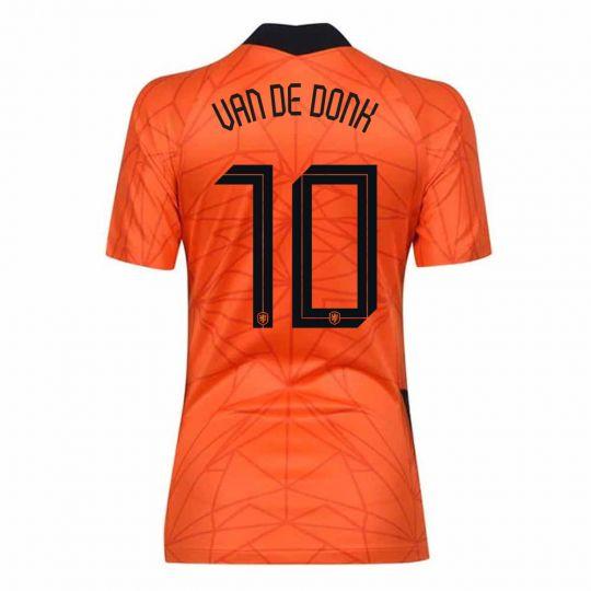 Nike Nederlands Elftal van de Donk 10 Thuisshirt Dames