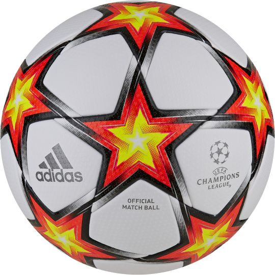 adidas Champions League Officiële Voetbal Maat 5 PS Wit Rood Geel