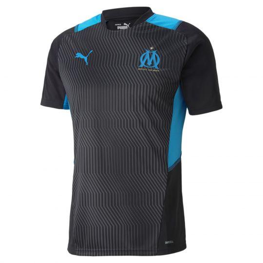 PUMA Olympique Marseille Trainingsshirt 2021-2022 Zwart Blauw