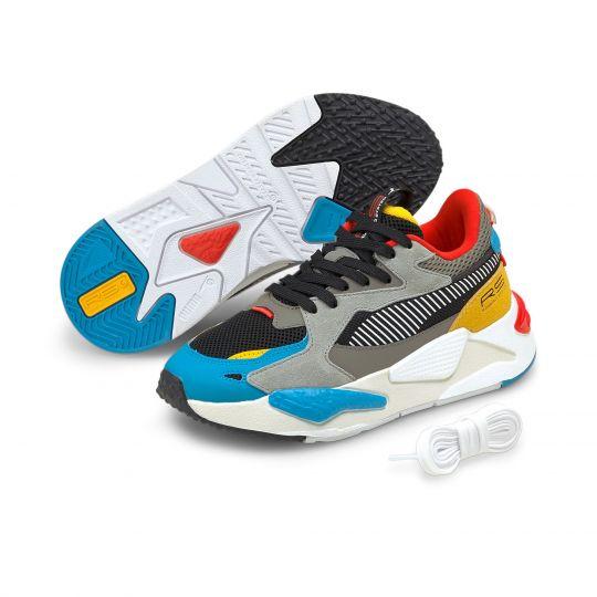 PUMA RS-Z Sneakers Kids Blauw Zwart