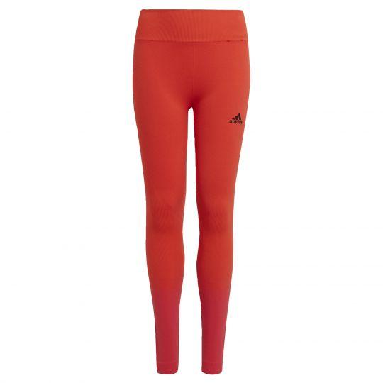 adidas Aeroknit AEROREADY Training Strakke Naadloze Legging Kids Oranje