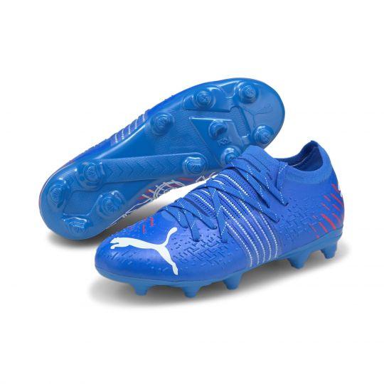 PUMA FUTURE Z 2.2 Gras / Kunstgras Voetbalschoenen (MG) Kids Blauw Wit
