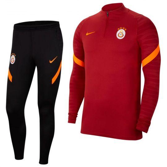 Nike Galatasaray Strike Trainingspak 2021-2022 Rood Zwart Oranje