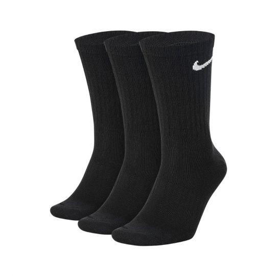 Nike Everyday Lightweight Sportsokken 3 Pack Zwart