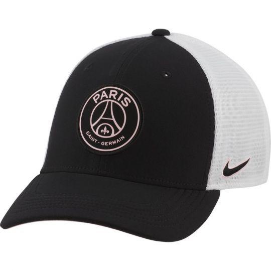 Nike Paris Saint Germain Classic 99 Trucker Cap Zwart Wit Roze