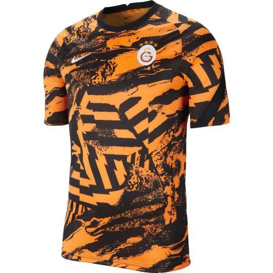 Nike Galatasaray Pre-Match Trainingsshirt 2021-2022 Oranje Zwart Wit