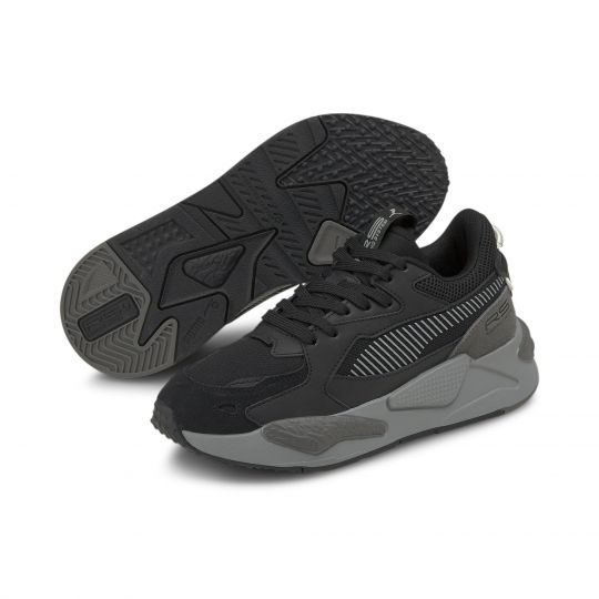 PUMA RS-Z College Sneakers Kids Zwart Grijs