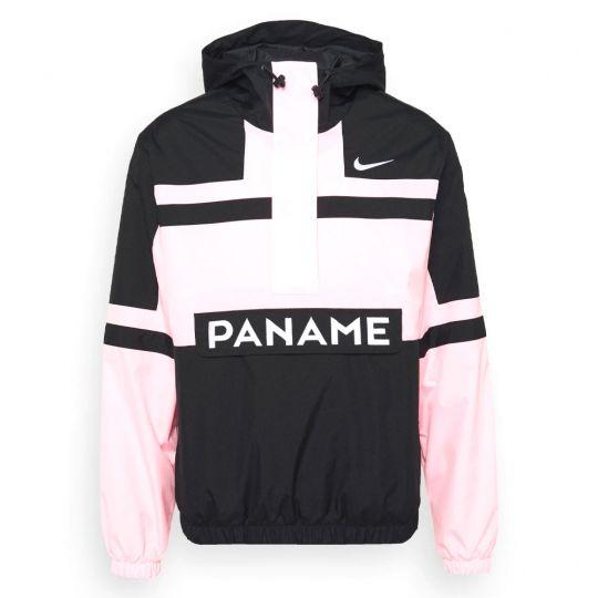 Nike Paris Saint Germain Woven Hooded Jas 2021-2022 Roze Zwart Wit