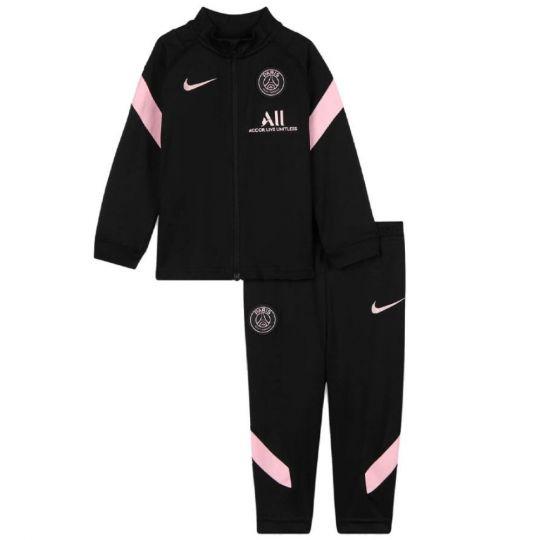 Nike Paris Saint Germain Strike Trainingspak 2021-2022 Peuters Zwart Roze