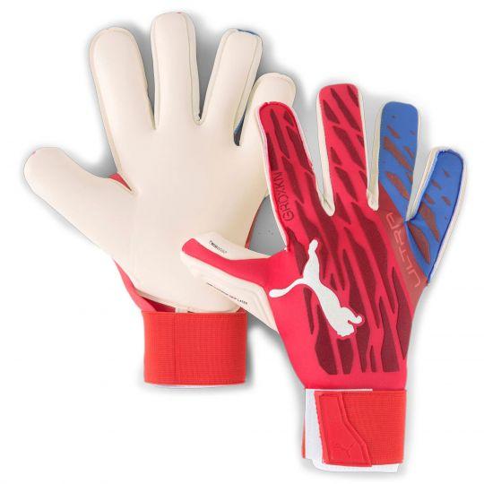 PUMA Ultra Grip 1 Hybrid Pro Keepershandschoenen Blauw Wit