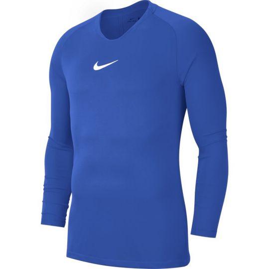 Nike Dri-FIT Park Ondershirt Lange Mouwen Royal Blauw