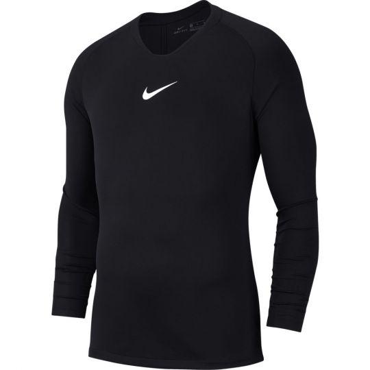 Nike Dri-FIT Park Ondershirt Lange Mouwen Kids Zwart