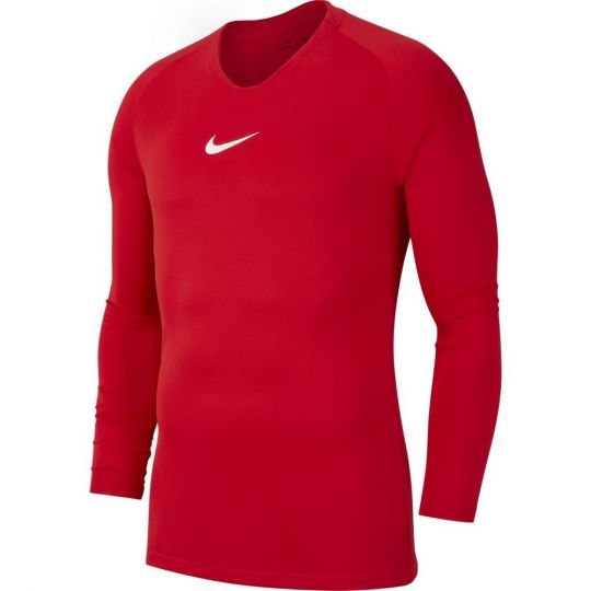 Nike Dri-FIT Park Ondershirt Lange Mouwen Kids Fel Rood