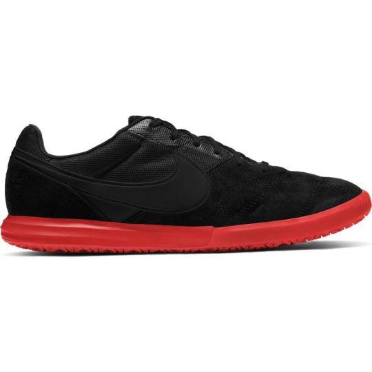 Nike Premier II SALA ZAALVOETBALSCHOENEN (IC) Zwart Rood