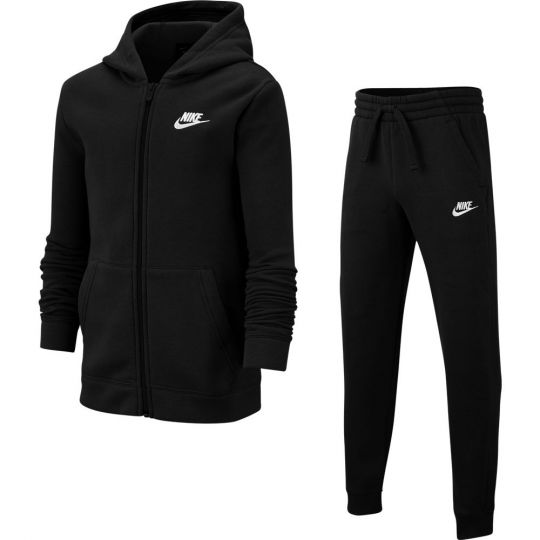 Nike Sportswear Trainingspak Zwart Wit Kids