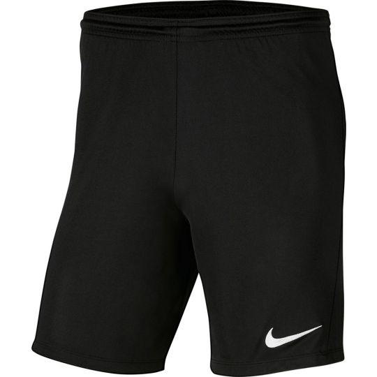 Nike Dry Park III Voetbalbroekje Kids Zwart