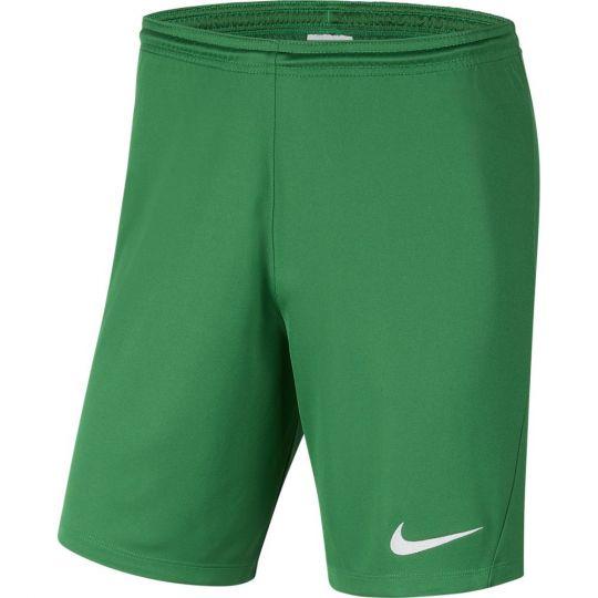 Nike Dry Park III Voetbalbroekje Kids Groen