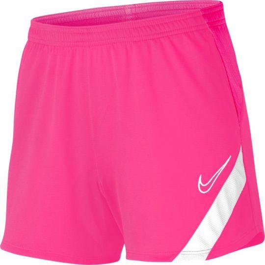 Nike Dry Academy Pro Voetbalbroekje Dames Roze Wit