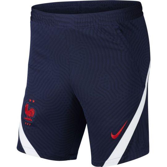 Nike Frankrijk Strike Trainingsbroekje KZ 2020-2022 Donkerblauw