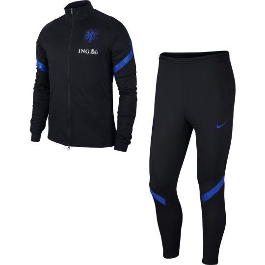 Nike Nederland Strike Trainingspak 2020-2022 Zwart