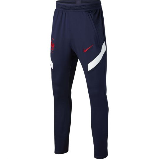 Nike Frankrijk Strike Trainingsbroek 2020-2022 KP Kids Donkerblauw