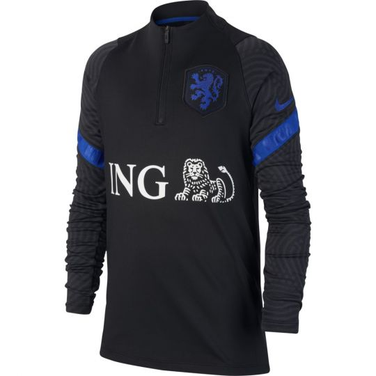 Nike Nederland Strike Trainingstrui 2020-2022 Kids Zwart