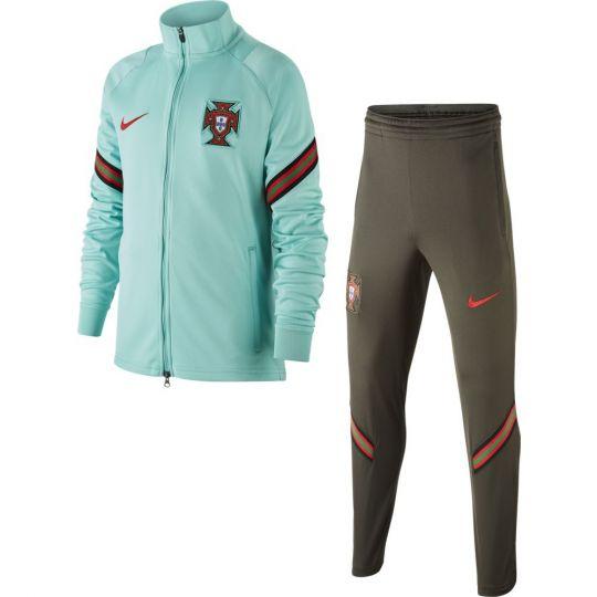Nike Portugal Strike Trainingspak 2020-2022 Kids Groen