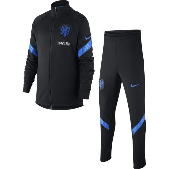 Nike Nederland Strike Trainingspak 2020-2022 Kids Zwart