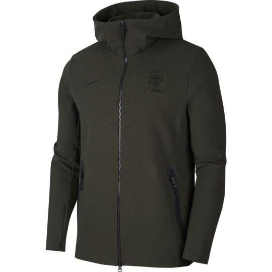 Nike Portugal NSW Tech Fleece Pack Hoodie FZ 2020-2022 Groen