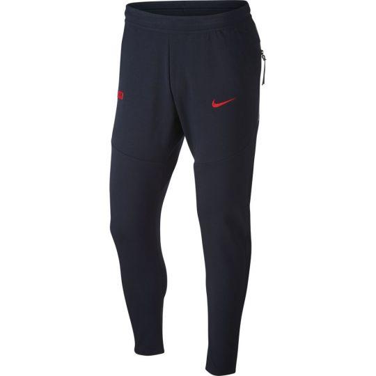 Nike Frankrijk NSW Tech Fleece Pack Trainingsbroek 2020-2022 Donkerblauw