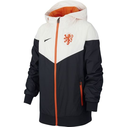 Nike Nederland NSW Windrunner Woven 2020-2022 Kids Zwart Wit