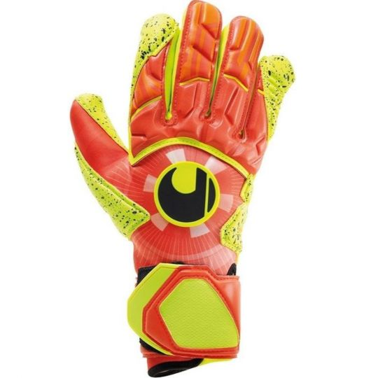 UHLSPORT DYNAMIC IMPULSE SUPERGRIP HN Keepershandschoenen Oranje Geel